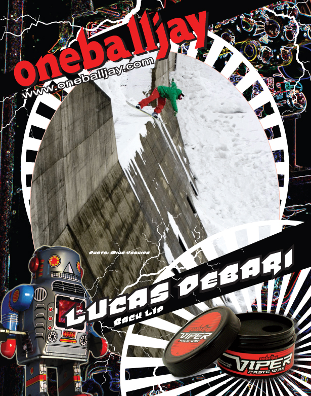 Oneballjay print ad