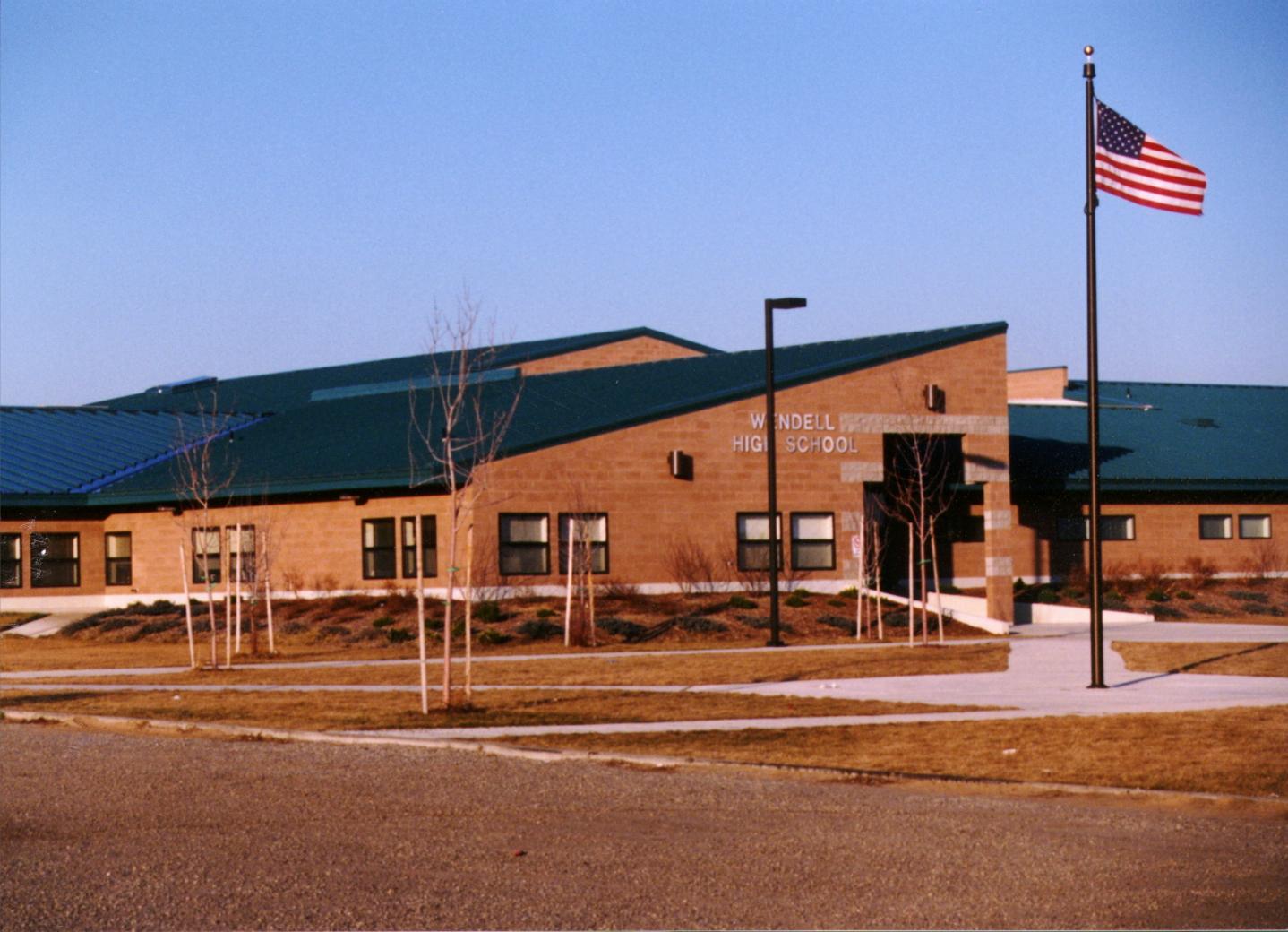 Wendell High School Exterior 1