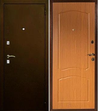 входная дверь Афина (антик медь/миланский орех)