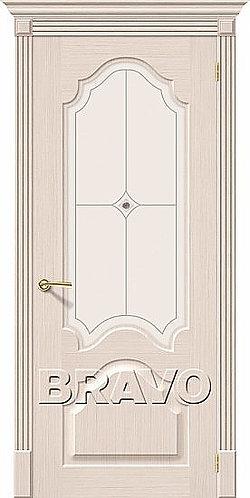 межкомнатная дверь Афина ДО/ беленый дуб