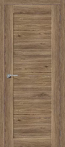 Межкомнатная дверь экошпон L-21 / Оригинальный дуб