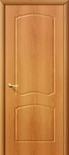 Межкомнатная дверь с покрытием ПВХ Альфа ДГ / миланский орех