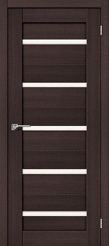 Межкомнатная дверь экошпон ST-1 / Wenge Veralinga