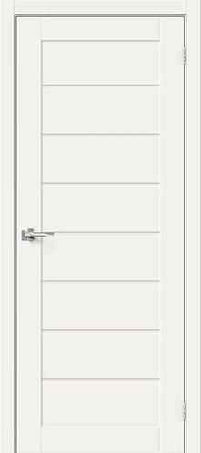 Межкомнатная дверь с покрытием 3D Б-22 /White Mix