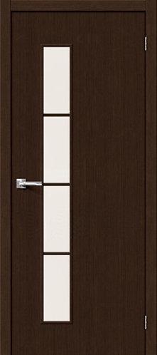 Межкомнатная дверь с покрытием 3D Т-4 / 3D Wengе