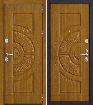 входная дверь Р3-312 Золотой Дуб/Золотой Дуб