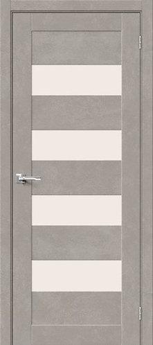 Межкомнатная дверь с покрытием 3D Б-23/ Gris Beton