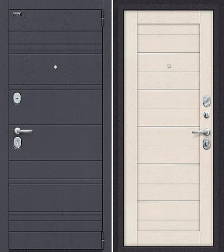 входная дверь Сканди (Graphite Wood/Cappuccino Softwood)