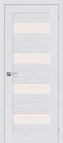 Межкомнатная дверь экошпон L-23 /Milk Oak