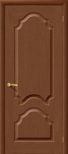Межкомнатная дверь Афина ДГ/ орех