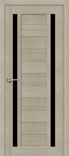 Межкомнатная дверь экошпон ST-6 Black / неаполь