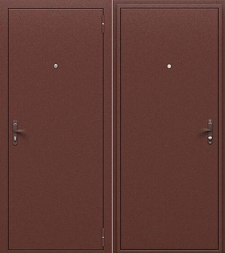 входная дверь ГОСТ РФ (металл/металл)