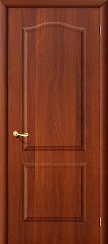Ламинированная межкомнатная дверь Палитра ДГ / итальянский орех