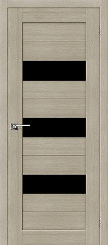 Межкомнатная дверь экошпон ST-8 Black / неаполь