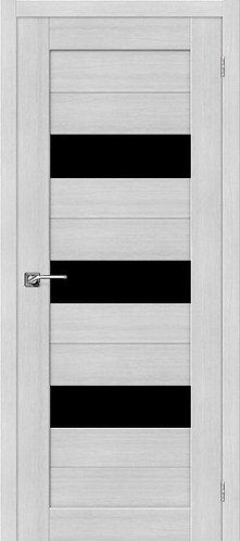 Межкомнатная дверь экошпон ST-8 Black / Bianco Veralinga