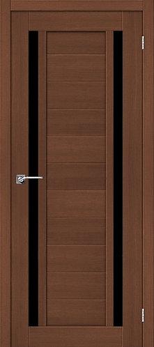 Межкомнатная дверь экошпон ST-6 Black / орех