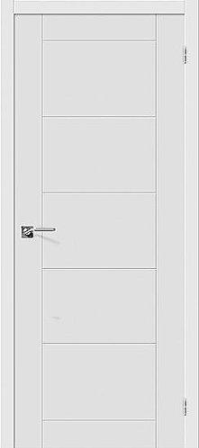 Межкомнатная дверь с покрытием ПВХ Граффити-4 / белый
