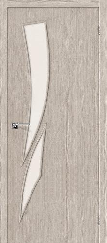Межкомнатная дверь с покрытием 3D М-10 / 3D Cappuccino