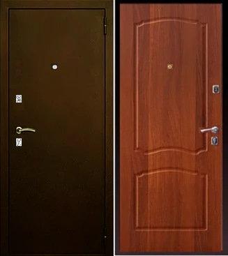 входная дверь Йошкар Ола Афина (антик медь/итальянский орех)