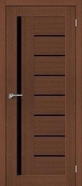 Межкомнатная дверь экошпон ST-13 Black / орех