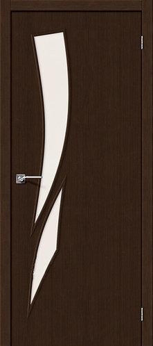 Межкомнатная дверь с покрытием 3D М-10 / 3D Wengе