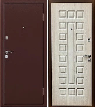 входная дверь Триумф (антик медь/карпатская ель)