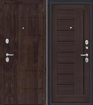 входная дверь Porta Модерн (Темная Вишня)/Wenge Veralinga