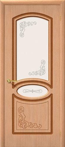 Межкомнатная дверь Азалия ДО/ дуб