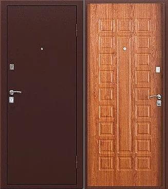 входная дверь Триумф (антик медь/американский дуб)