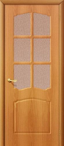 Межкомнатная дверь с покрытием ПВХ Альфа ДО / миланский орех