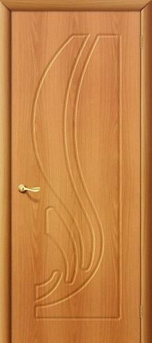 Межкомнатная дверь с покрытием ПВХ Лотос ДГ / миланский орех