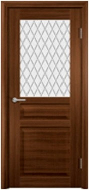 Межкомнатная дверь экошпон ST-23 ДО / Орех