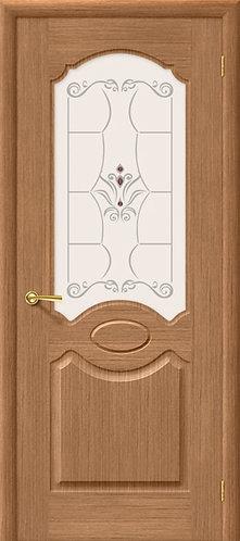 Межкомнатная  дверь Селена ДО/ дуб