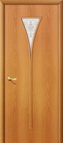 Ламинированная межкомнатная дверь Рюмка ДХ / миланский орех