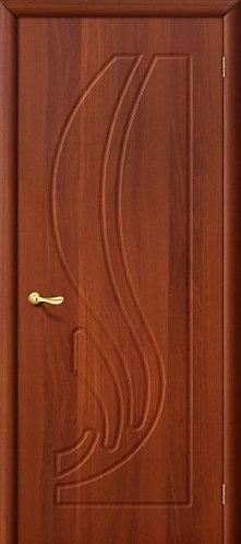Межкомнатная дверь с покрытием ПВХ Лотос ДГ / итальянский орех