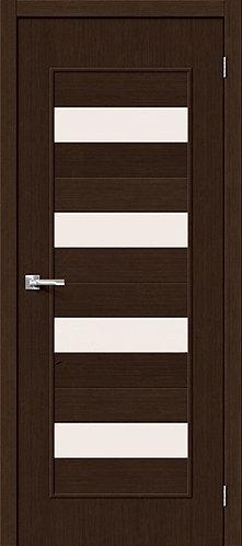Межкомнатная дверь с покрытием 3D Т-23 / 3D Wengе