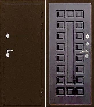 Входная дверь с терморазрывом ИЗОТЕРМА венге