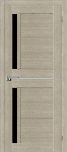 Межкомнатная дверь экошпон ST-5m Black / неаполь