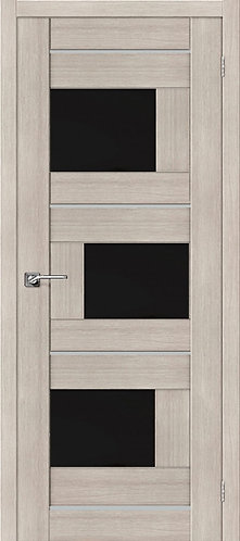 Межкомнатная дверь экошпон ST-3m Black / Cappuccino Veralinga