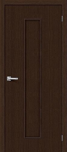 Межкомнатная дверь с покрытием 3D Т-13 / 3D Wengе