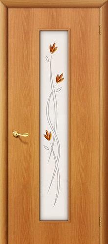 Ламинированная межкомнатная дверь Тиффани-2 / миланский орех
