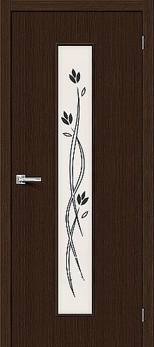 Межкомнатная дверь с покрытием 3D Т-14 / 3D Wengе