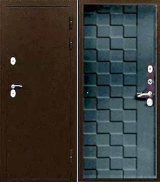 Входная дверь с терморазрывом ФРОСТ венге