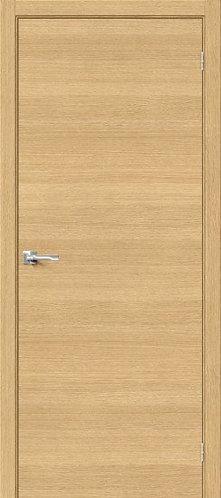 межкомнатная дверь натуральный шпон Вуд Флэт-0.H/Just Oak