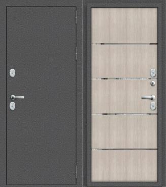 Входная дверь с терморазрывом ТЕРМО - 100 капучино