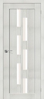 Межкомнатная дверь экошпон ST-21 EKS / Bianco Veralinga