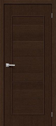 Межкомнатная дверь с покрытием 3D Т-21 / 3D Wengе