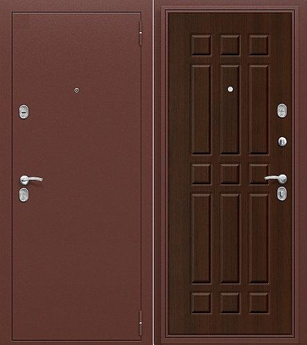 входная дверь СТАРТ (антик медь/венге)
