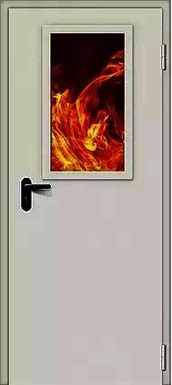 Дверь противопожарная ДМПО-1 EI-60