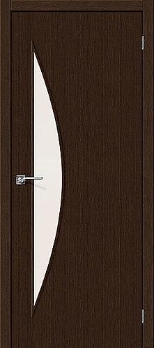 Межкомнатная дверь с покрытием 3D М-6 / 3D Wengе